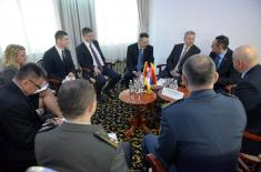 Састанак министра Вулина и министра Бенка