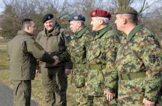 Министар Вулин: За Војску Србије нема празника