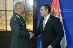 Minister Vulin: 2019 – the year of further strengthening of the Serbian Armed Forces