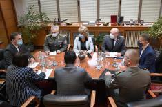 Састанак министра Стефановића и министра Селаковића