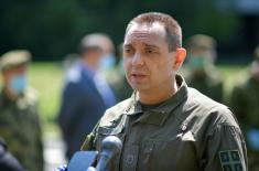 Minister Vulin: The military health care has shown its worth in these difficult times