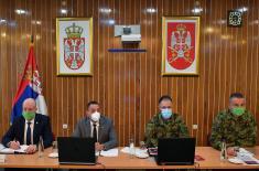 Zajednička sednica Kolegijuma ministra odbrane i proširenog Kolegijuma načelnika Generalštaba