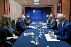 Minister Stefanović meets with Ambassador of Belarus Brylev