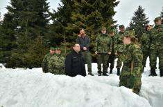 Војска Србије обучена за дејства у зимским условима