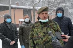 Ministar Vulin: Vojska Srbije odmaralište Letenka prilagodila potrebama trenutne krize