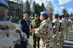 Министар Вулин: Нема лаке мировне мисије