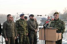 Ministar Vulin: Vežba razlog za ponos svakog našeg građanina