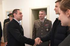 Minister Vulin: The Serbian Armed Forces take care of its members for a lifetime