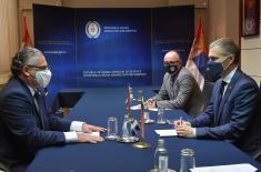 Sastanak ministra Stefanovića sa ambasadorom Češke Kuhtom