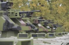 Министар Вулин: Модернизацијом постојећих средстава Војска Србије паметније користи буџетска средства и повећава своје способности