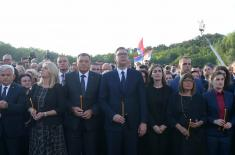 President Vučić Today, the Serbs are united wherever they live