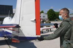 Министар Вулин: Будући пилоти и ученици завршне године Средње стручне војне школе нису прекидали школовање током пандемије