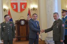 Minister Vulin: We take care of the members of the Armed Forces and their families