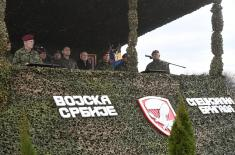 Minister Vulin: Order of the Commander-in-Chief to bring back 63rd Parachute Brigade and 72nd Special Operations Brigade fulfilled