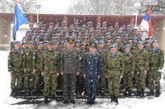 Испраћај контингента Војске Србије у мировну операцију MINUSCA