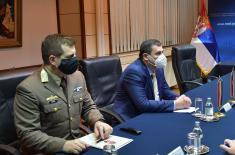 Sastanak ministra Stefanovića sa ambasadorom Mađarske Pinterom