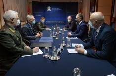 Састанак министра Стефановића са амбасадором Русије Боцан-Харченком