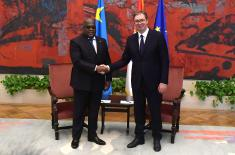 Svečani doček predsednika Demokratske Republike Kongo