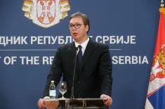 Predsednik Vučić: Srbija i DR Kongo razgovaraće i o razvoju vojno-tehničke saradnje