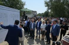 Construction of apartments for members of the security system has begun in Novi Sad