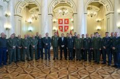 Ministar Vulin: Ministarstvo odbrane i Vojska Srbije brinu o životnim pitanjima svojih pripadnika