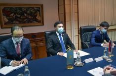 Састанак министра Стефановића са амбасадором Казахстана Сиздикбековим