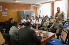 Address of General Diković to the Members of the Delegation of US Armed Forces