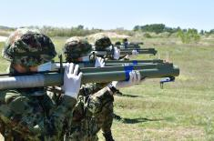 Војници мартовске генерације успешно извели гађање из ручног ракетног бацача 64 мм М80