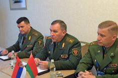 Minister Stefanović meets with Belarusian Minister of Defence Khrenin