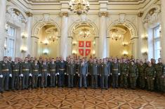 Admission of 78 Non-Commissioned Officers in Professional Military Service for Indefinite Time