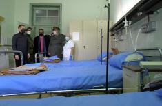 Vojna bolnica Niš od danas u Kovid sistemu