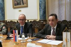 Sastanak ministra Vulina i ministra odbrane Republike Kipar Angelidesa