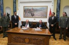Састанак министра Вулина и министра одбране Републике Кипар Ангелидеса