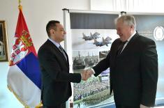 Састанак министра одбране са амбасадором Републике Белорусије