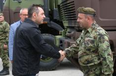 """Ministar Vulin u Priboju: Za 745 malih akcionara """"FAP-a"""" određeno 129 miliona dinara"""