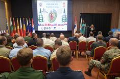 Свечаност поводом 15 година чланства Републике Србије у CISM