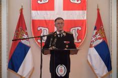 Пријем министра одбране и начелника Генералштаба поводом Дана војних ветерана