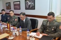 Defence Cooperation with Germany