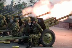 Počasna artiljerijska paljba povodom Dana Vojske Srbije