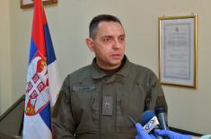 Министар Вулин: Сећамо се оних који су нам одбранили домовину на Кошарама и на Паштрику