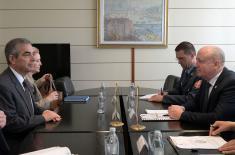 Састанак државног секретара Живковића са новоименованим амбасадором Бразила