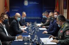 Састанак министра Стефановића са градоначелником Новог Сада Вучевићем