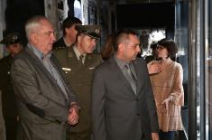 Delegations of the Olympic Committee and CISM with Minister Vulin at the