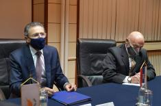 Sastanak ministra Stefanovića sa ambasadorom Kipra Tefilaktuom