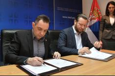 АМСС и Министарство одбране потписали Меморандум о сарадњи
