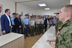 President Vučić at Military High School: Next year the Serbian Armed Forces will be the strongest in the region
