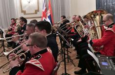 Концерт британског и српског војног оркестра