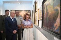 Отварањем изложбе ратних сликара обележен Дан Војног музеја
