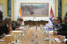Састанак министра Вулина и индијског министра спољних послова Џаишанкара