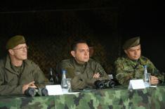 Министар Вулин: Војска Србије сваким даном све јача